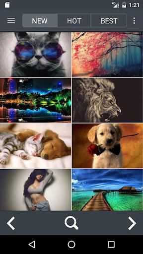 1,000,000 Wallpapers HD 4k(Best Theme App)  screenshots 2