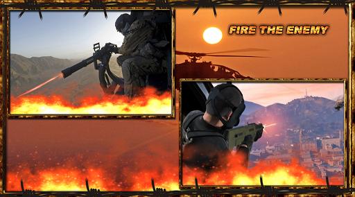 無料动作Appのコマンドー戦士HeliGunship|記事Game