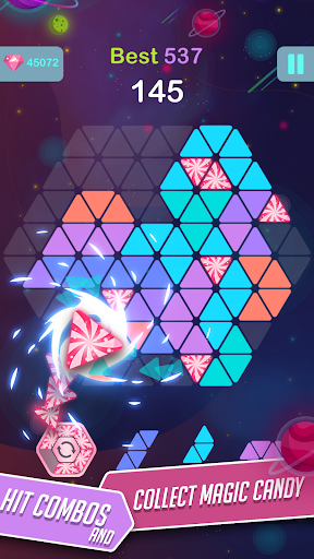 Triangle Candy - Block Puzzle 1.2 {cheat|hack|gameplay|apk mod|resources generator} 2