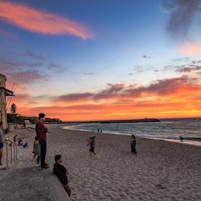 Cottesloe Beach Western Australia by Mark Molinari - Landscapes Beaches ( sunsets, seascape, landscape,  )
