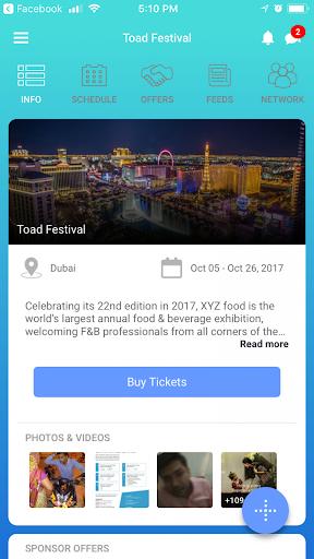 EventOnApp 10.1 screenshots 1