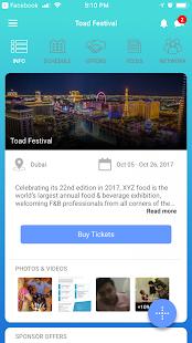EventOnApp - náhled