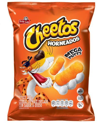 Snack Cheetos Puff Frito Lay