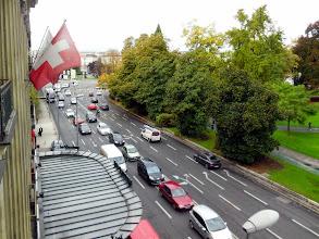 Photo: We arrive at the Swisshotel Geneva