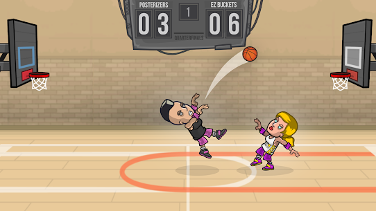 Basketball Battle Mod Apk 2.2.3 (Unlimited Gold + Infinite Cash) 3