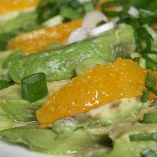 Avocado and Orange Salad With Orange-Ginger Dressing
