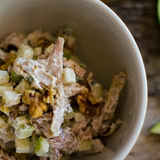 Apple Walnut Chicken Salad with Greek Yogurt Recipe