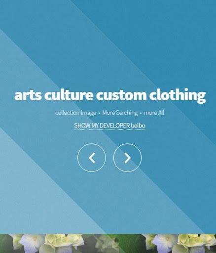 藝術文化定制服裝