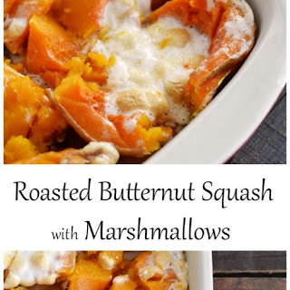 How to Make Sweet Butternut Squash with Marshmallows.