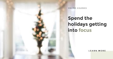Holiday Online Courses - Facebook Ad template