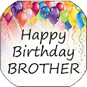 Happy Birthday Brother icon