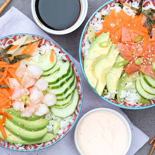 California Roll Sushi Bowls.