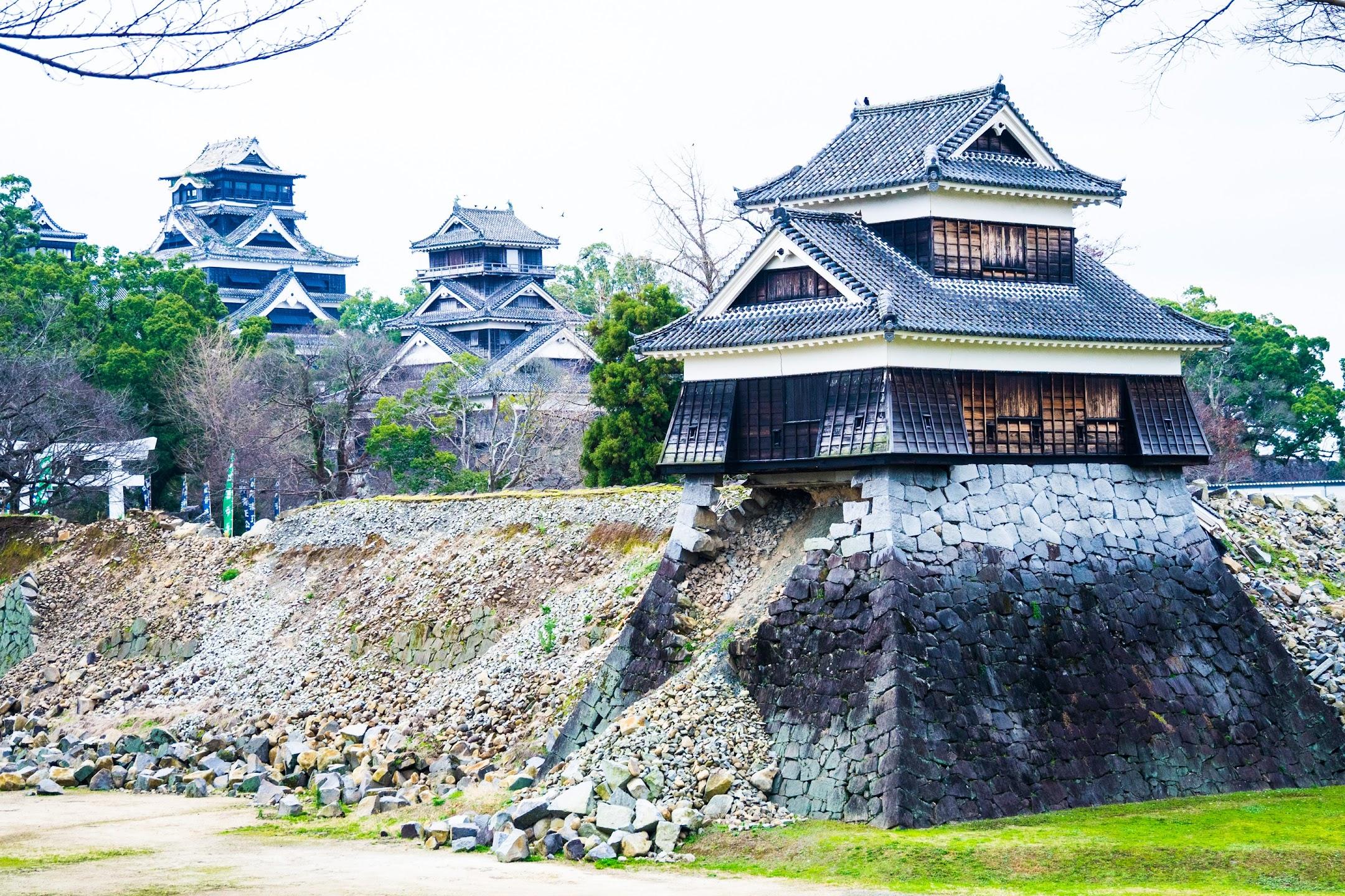 熊本城 二の丸広場 戌亥櫓