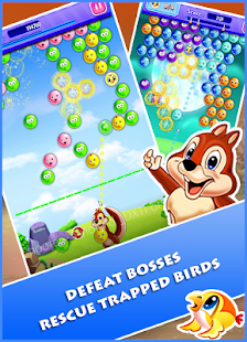 Birds Rescue Bubble Shooter - náhled