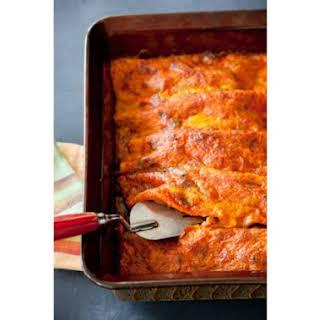 Simple Perfect Enchiladas.