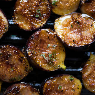 Thyme & Balsamic Grilled Figs.