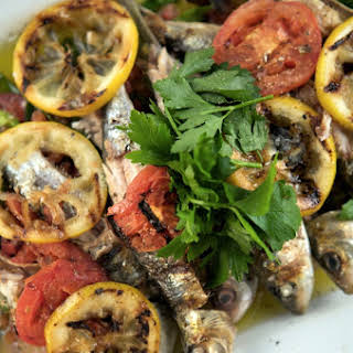Grilled Sardines, Portuguese-style.