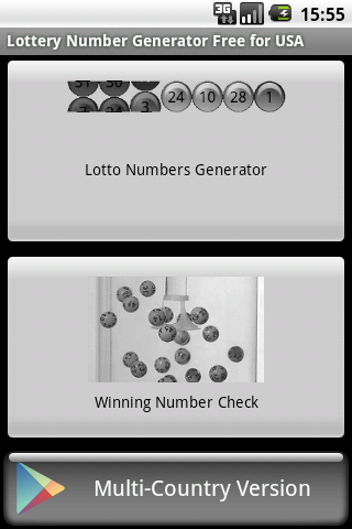 Lotto Number Generator USA