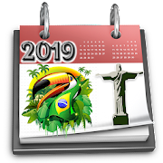 Brazil Calendar 2019