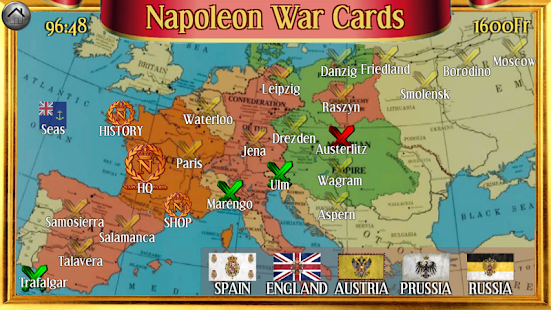 Napoleon War Cards- screenshot thumbnail