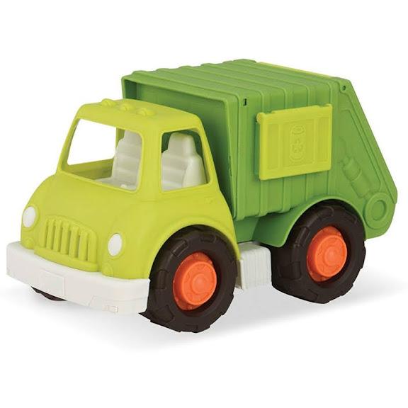 Contenido de Wonder Wheels Camión de Reciclaje