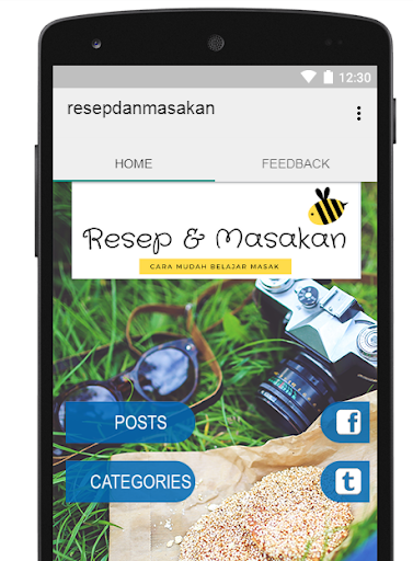 resepdanmasakan 1.1 screenshots 1