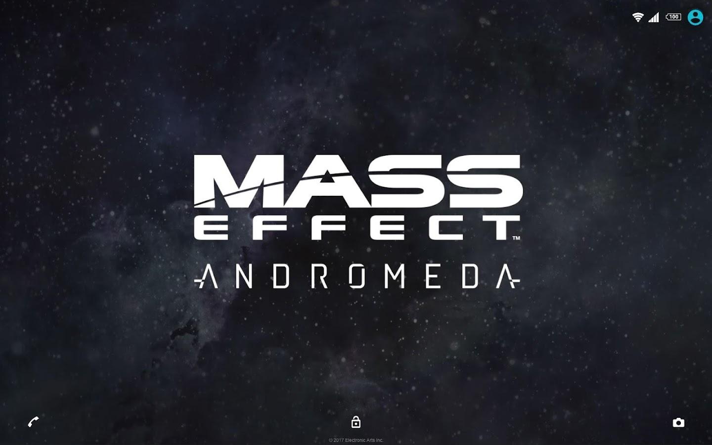 Google themes that move - Xperia Mass Effect Theme Screenshot