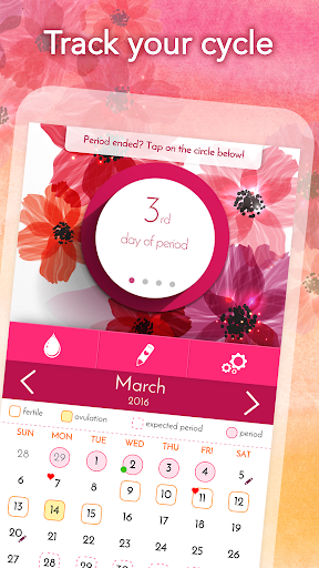 My Calendar - Period Tracker Screenshot
