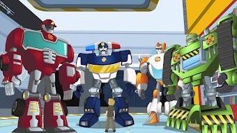 Les Rescue Bots stars de la télé