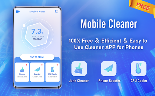 Mobile Cleaner - Free Booster & Phone Run Faster  screenshots 1