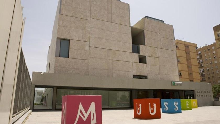 El Museo de Almería, en una imagen de archivo. (Foto: Miguel Ángel Marín)