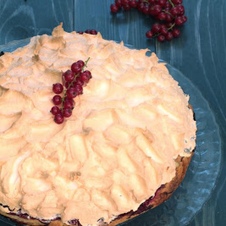 Red Currant Cake with Meringue Recipe