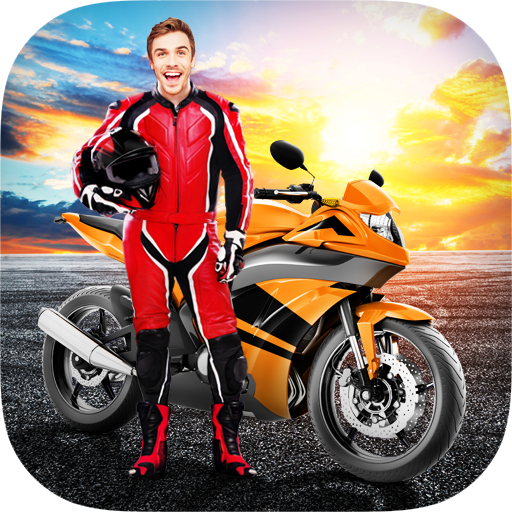 Racing Bike Photo Editor Icon