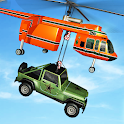 Helicopter Crane Cargo Delivery Transport Games icon