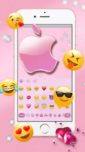 Rose Gold Apple Theme for Phone - náhled