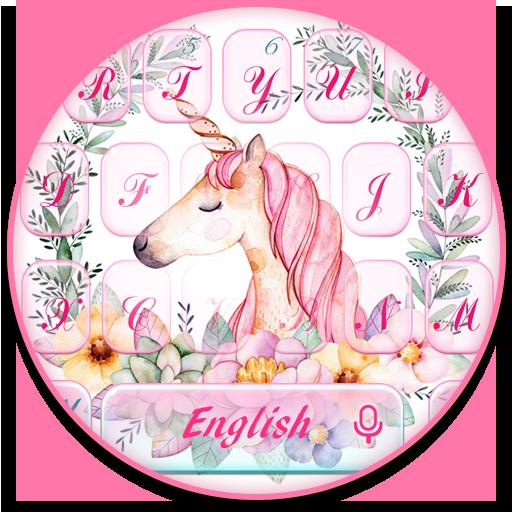 Flower Unicorn Keyboard