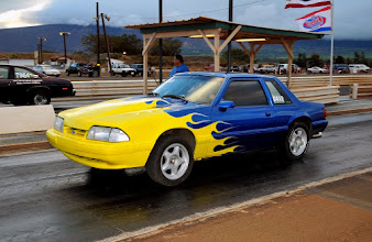 Photo: Pal Randy Chapman's 5.0 'stang...