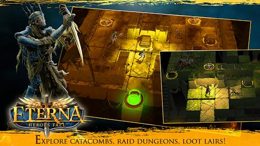 Eterna: Heroes Fall - Deep RPG 1.146 screenshots 3