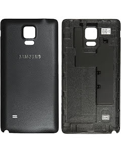 Galaxy Note 4 Back Cover Black