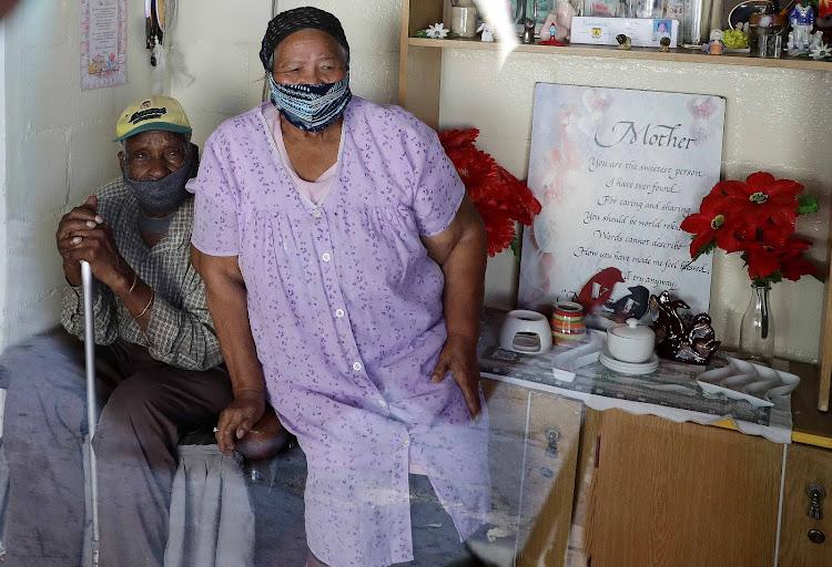 Fredie Blom and his wife, Janneta, this week.