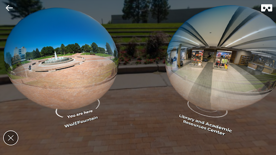 CSU Pueblo - Experience in VR - náhled