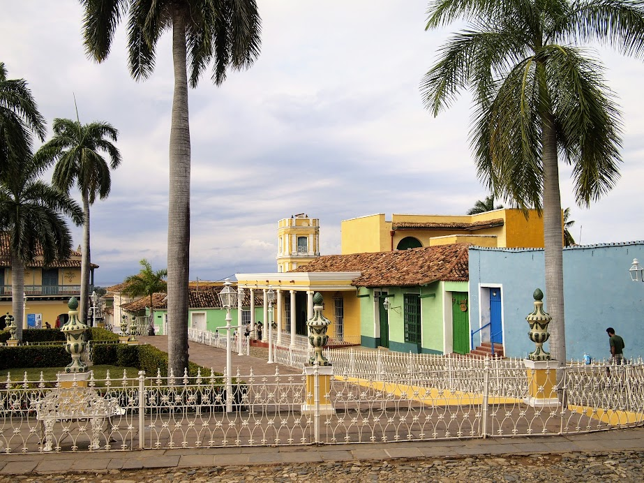 Around the main square of Trinidad, Cuba