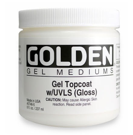 Golden 237ml Gel Topcoat (gloss)