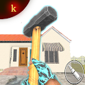 Granny Kick Neighbor: Free Fun FPS Shooting Games icon