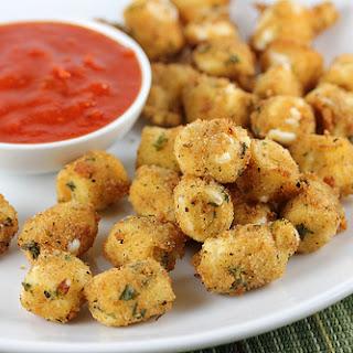 Mozzarella Cheese Bites.