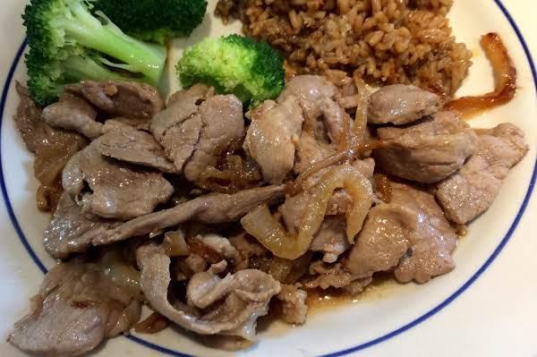 Filipino Bistek (pork Tenderloin)