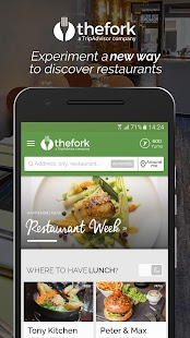 TheFork - Restaurants booking- screenshot thumbnail