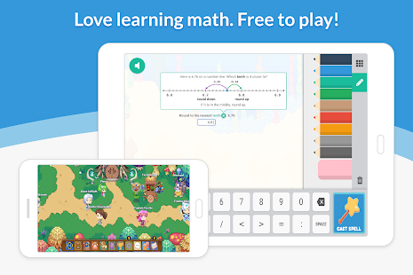 Prodigy Math Game Screenshot