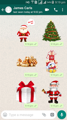 Christmas Sticker Pack - WAStickerApps 1.0 screenshots 1