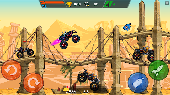 Mad Truck Challenge Mod Apk – Shooting Fun Race 1